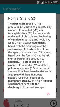 Auscultation ( Heart & Lung Sounds) screenshot 5