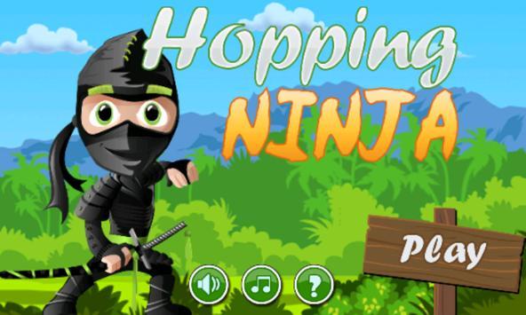 Hopping Ninja poster