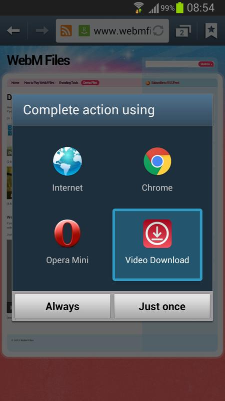 how to download video from gogoanime using android