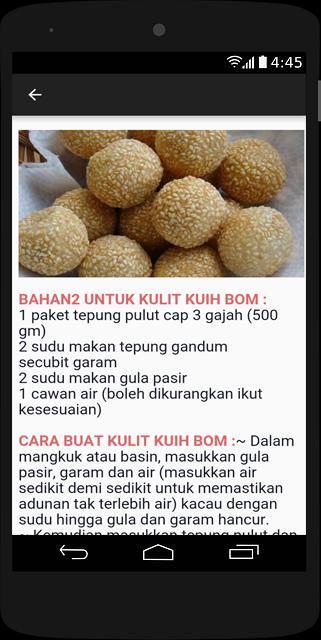 Resepi Kuih Muih For Android Apk Download