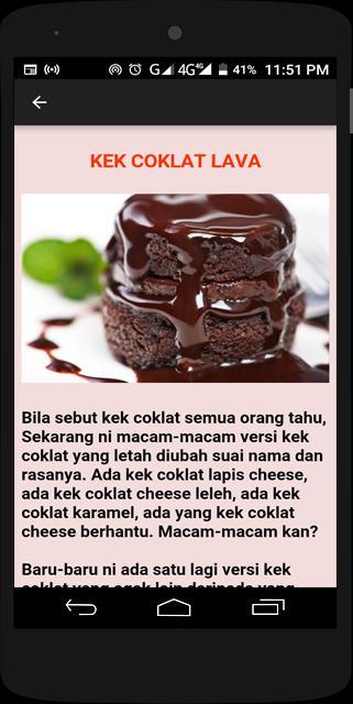 Resepi Kek For Android Apk Download