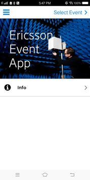 Ericsson Events poster
