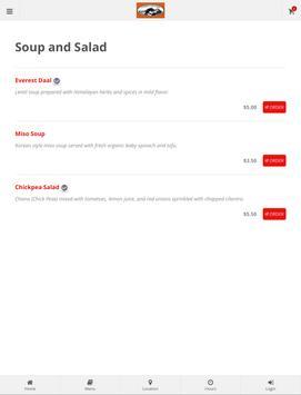 Everest Online Ordering screenshot 5