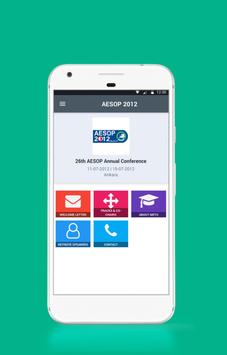 AESOP 2012 poster