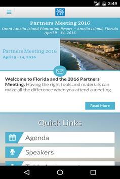 Partners Meeting 2016 apk screenshot