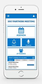 2017 Partners Meeting poster