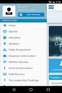 2016 SDM National Conference screenshot 2