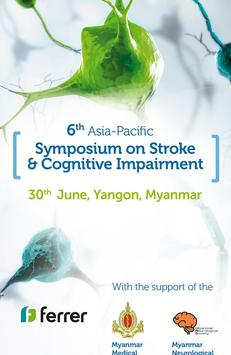 AP Stroke & Cognitive Impairment, Yangon poster