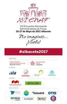 XVI ENAF Albacete poster