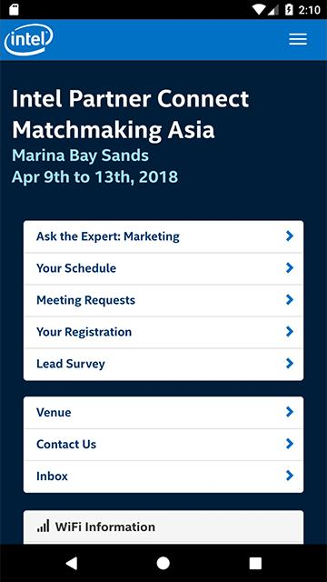 Intel Partner Connect Matchmaking Asia for Android - APK