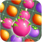 Fruit Link Farm Sweet Match 3 icon