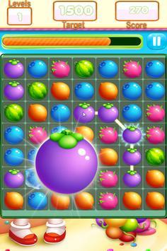 Fruit Link Farm Sweet Match 3 screenshot 7