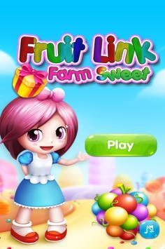 Fruit Link Farm Sweet Match 3 poster