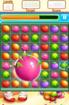 Fruit Link Farm Sweet Match 3 screenshot 13
