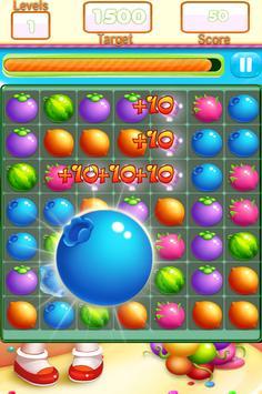 Fruit Link Farm Sweet Match 3 screenshot 1