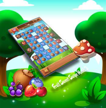 Fruit Sweet Swipe Match 3 apk screenshot