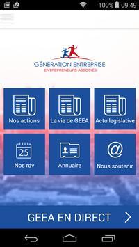 GEEA - Génération Entreprise.. poster