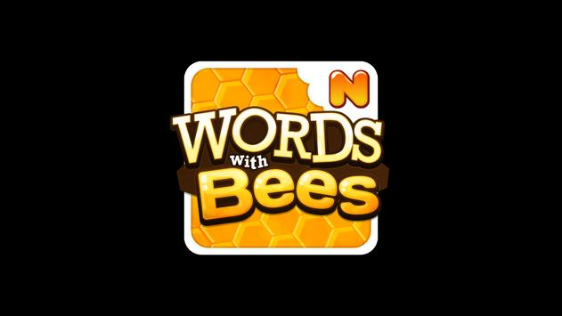 Words with Bees HD FREE poster
