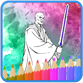 How To Color Star Wars Adult Coloring Pages icon