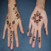 mehndi henna art icon