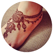 Mehndi Simple Designs For Foot icon