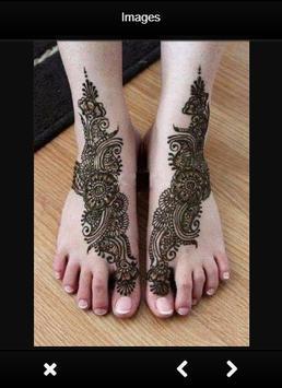 Mehndi Simple Designs For Foot apk screenshot