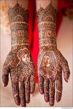 Mehndi Patterns poster
