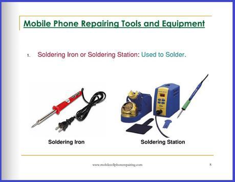 Mobile Phone Repairing apk screenshot