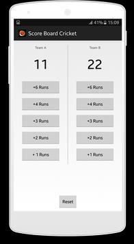 Score Board Cricket apk screenshot