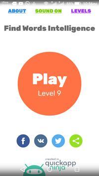 Find Words Intelligence (Puzzle Game) apk screenshot