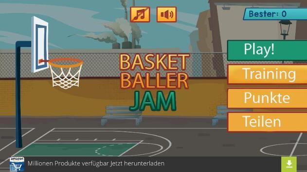 Basketballer Jam poster