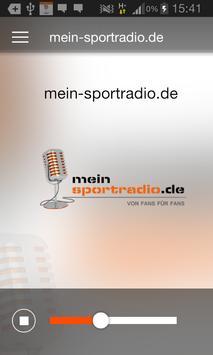 meinsportradio.de poster