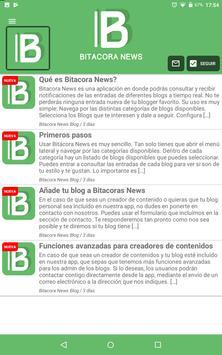 Bitacora News - Los mejores blogs a un click screenshot 11