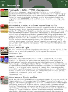 Bitacora News - Los mejores blogs a un click screenshot 7