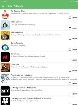 Bitacora News - Los mejores blogs a un click screenshot 8