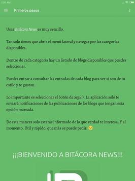 Bitacora News - Los mejores blogs a un click screenshot 9