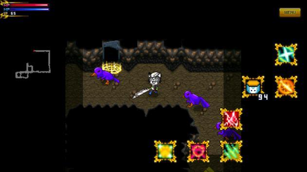 Dungeon & Sushi Nyang apk screenshot