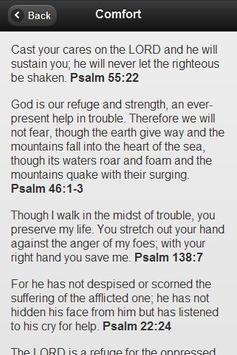 Topical Bible Verse (Free) apk screenshot