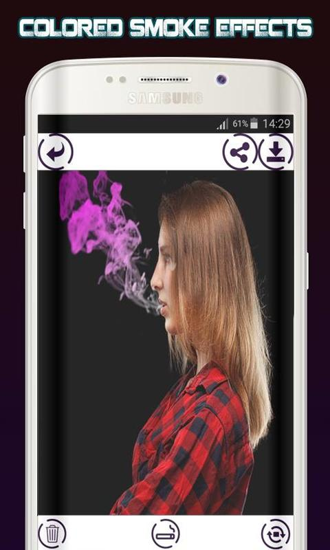 Smoke Photo Editor for Android - APK Download