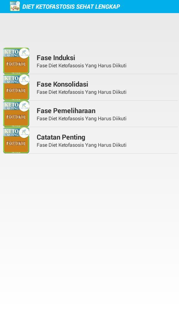 Diet Ketofastosis Sehat Lengkap For Android Apk Download