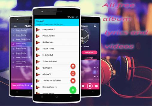 Ha-Ash - Nuevo Lo Aprendí de Ti musica y letras apk screenshot