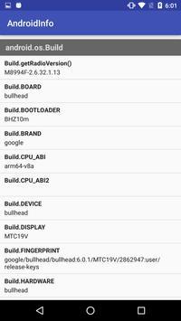 AndroidDeviceInfo apk screenshot