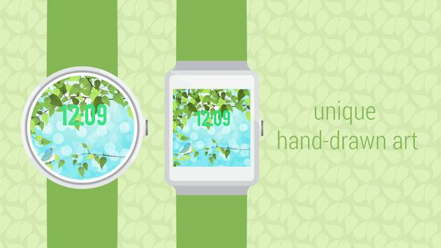 Spring Collection Watch Face apk screenshot