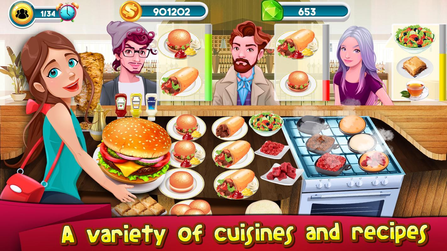 Kochen Spiele Küche Steigen: Kochen Chef Master APK-Download ...