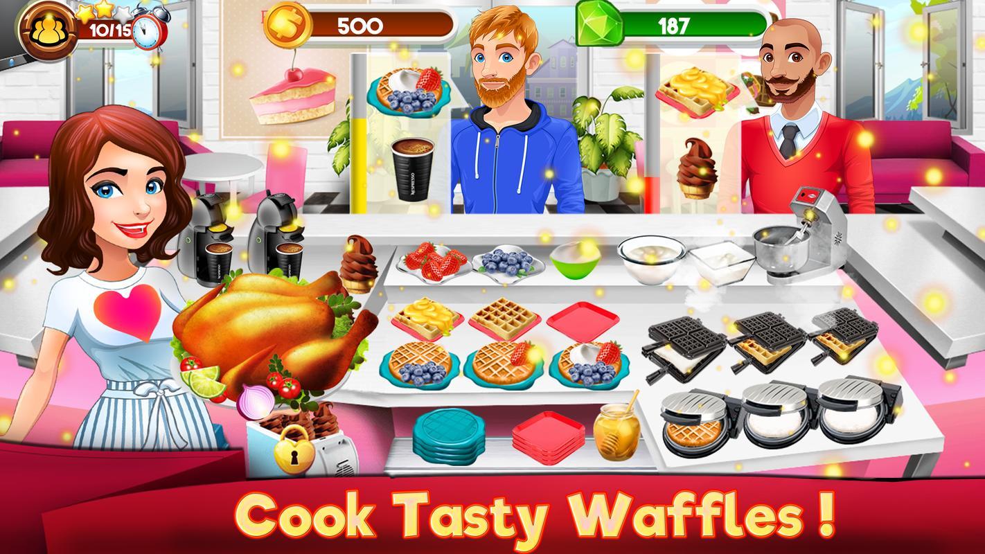 Kochen Küche Spiele Koch Restaurant Essen Mädchen für Android - APK ...