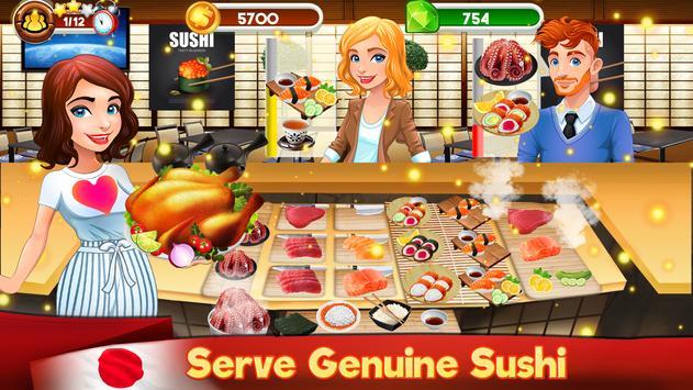 Memasak Dapur Koki Restoran Makanan Pertandingan screenshot 10