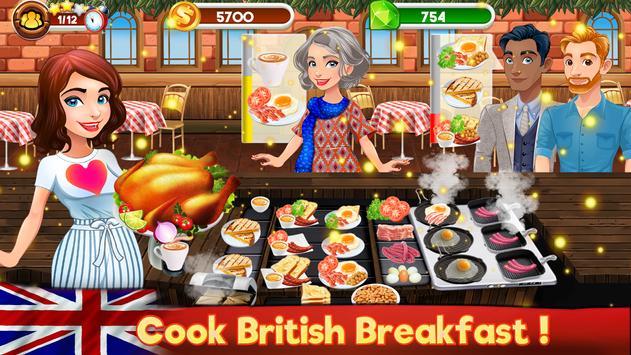 Memasak Dapur Koki Restoran Makanan Pertandingan screenshot 12