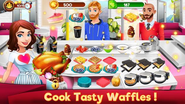 Memasak Dapur Koki Restoran Makanan Pertandingan screenshot 14