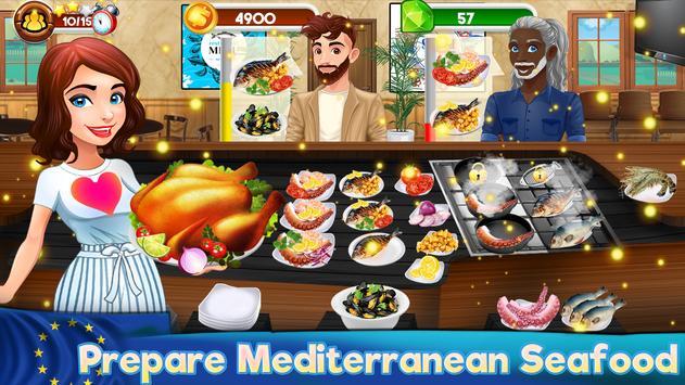 Memasak Dapur Koki Restoran Makanan Pertandingan screenshot 1