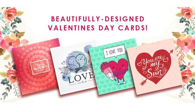 Cute Valentines Day Cards poster